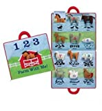 North American Bear 17'' X 18.5'' Farm Animal Activity Mat