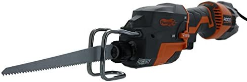 Ridgid R3031 Fuego Corded 3,500 SPM 6 Amp Compact One-Handed Reciprocating Saw Bare Tool Only - Renewed