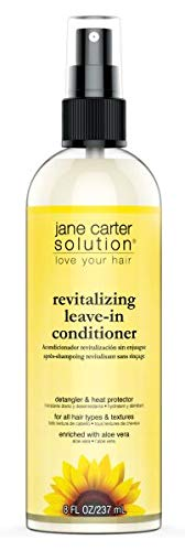Revitalizing Spray Solution - Jane Cosmetics Carter Solution Revitalizing Leave-in Conditioner, 8 Ounce