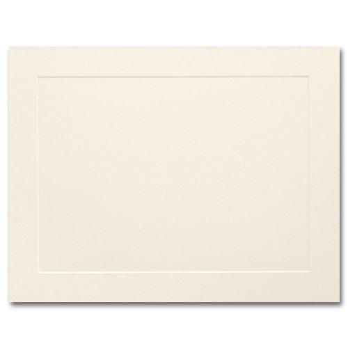 Vellum Panel (Fine Impressions Ecru Flat Panel Cards - A2 (4 1/4 x 5 1/2) 80 lb Cover Vellum - 250 per Box)