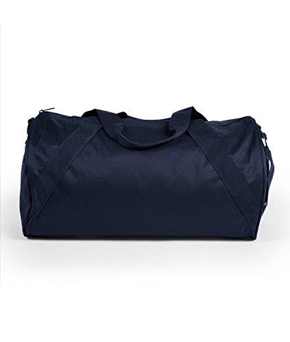 Liberty Bags Shoulder Strap Barrel Duffels Set_Navy & Black_OS