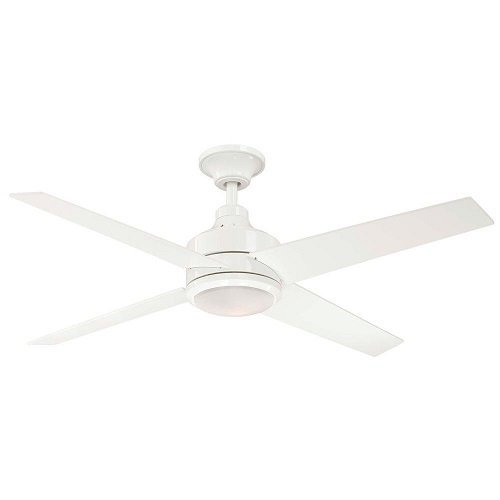 Hampton Bay Mercer 52 In. White Ceiling Fan by Hampton Bay
