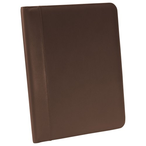 Andrew Philips Leather Writing Pad Holder Brown by Millennium Leather
