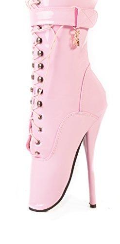 Chiaro Bianco Formato 18 12 Nero Stivali Nero Caviglia Rosso 10 Balletto Rosa 16 14 Rosa 8 AAw4q0X