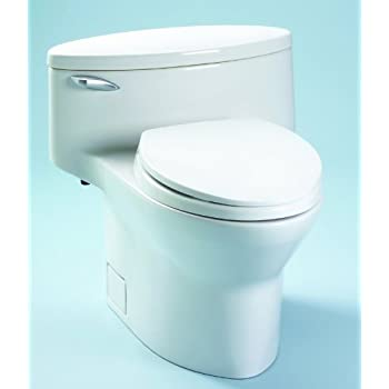 Toto Ms914114 04 Dorian Elongated One Piece Toilet With