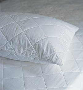 The House of Emily One Pair of Luxury Super King Size Quilted ... : quilted pillow protector - Adamdwight.com
