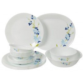 Corelle India Collection Blue Blossom Round Dinner Set 21-Pieces  sc 1 st  Amazon.in : corelle dinnerware india - Pezcame.Com