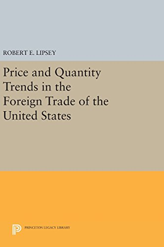 Price and Quantity Trends in the Foreign Trade of the United States