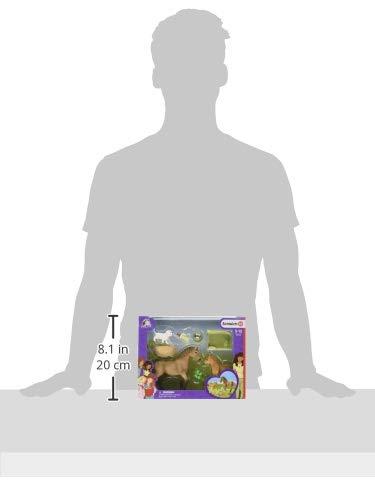 Schleich Figurine Les Soins pour b/éb/é Animaux dHorse Club Sarah 42432