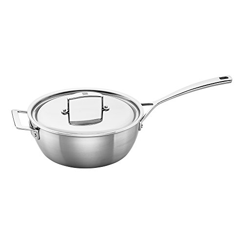 ZWILLING J.A. Henckels 66080-240 Saucier, 3.5 quart, Stainless Steel