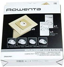 Rowenta – Bolsa x 6 filtro x 2 Compacteo – zr003901: Amazon.es ...