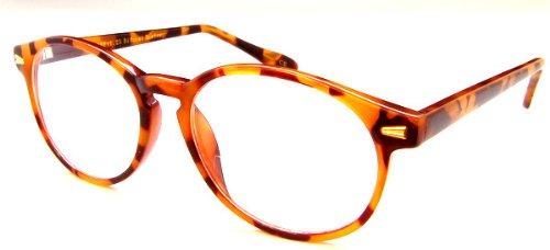 Gafas de lectura Bi Focal Rounders Style - Asequibles Bi Focals con estilo, 2.25, tortuga