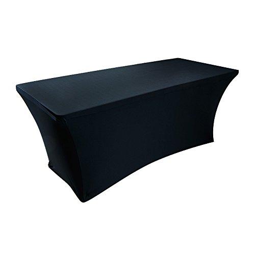 테이블 6 개, 직사각형 스커트, 폴리 에스테 또는 스판덱스, 탄성, ..