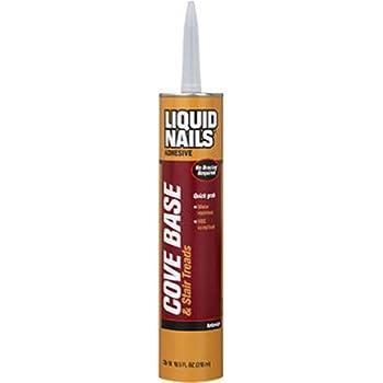 liquid nails cb10 liquid nails cove base adhesive 10 oz cartridge