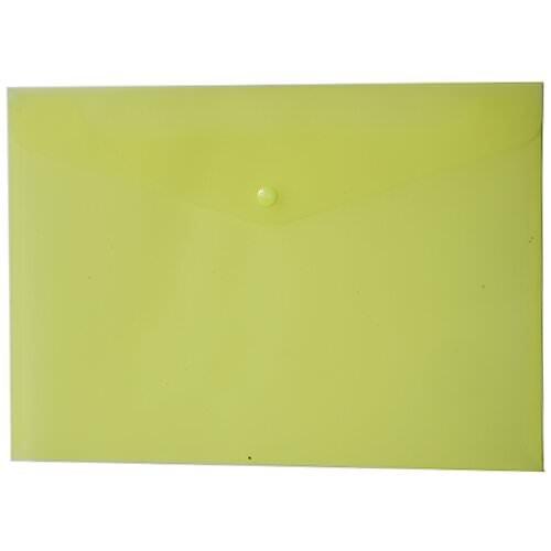 Frosted Plastic Envelopes (JAM Paper Plastic Envelope with Snap Closure - Letter Booklet - 9 1/4