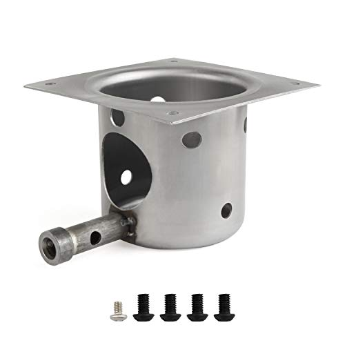 GASPRO Fire Burn Pot Replacement Parts for Traeger and Pit Boss Pellet ()