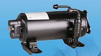 Partes GOWE HVAC horizontal giratorio compresor para caravana recreación vehículo Aire Acondicionado: Amazon.es: Bricolaje y herramientas