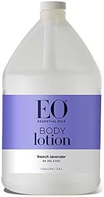 EO Botanical Ultra Moisturizing Body Lotion, French Lavender, 128 Ounce (1 gallon)