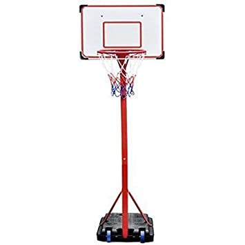 Soporte para Tabla de Baloncesto de pie con Soporte Totalmente ...
