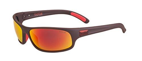 Bolle Anaconda Tns Fire, Matt Mono Red (Anaconda Polarized Sunglasses)