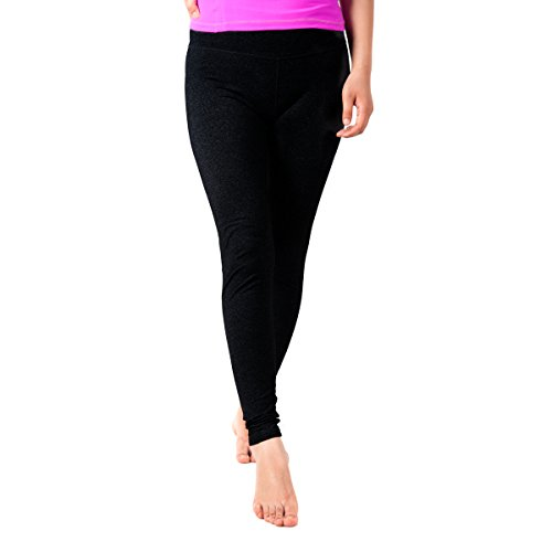Sportown™ Women's Ankle Tight Yoga Running Workout Leggings Pants, Hidden Pocket Black S