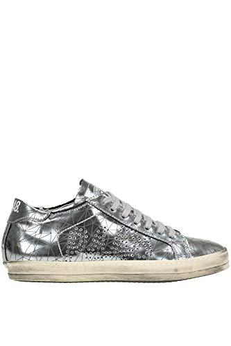 Sneakers Mcglcak000004104i In P448 Delle Donne Argento Pelle FwHApq