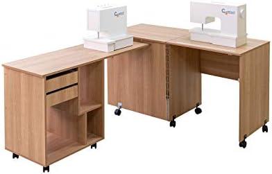 Comfort 8 | Mesa para máquina de coser y overlock | (Beech Ellmau ...