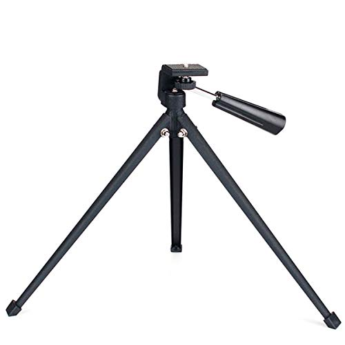 Tabletop Tripod with Mount Adapter Portable Compact Tripod Folded Tripod for Spotting Scopes DLSR Camera Monocular Binocular Medium-Sized Telescopes