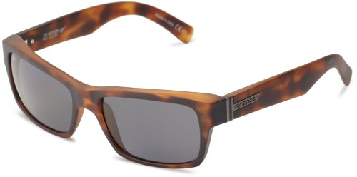 VonZipper Fulton Polarized Square Sunglasses,Tortoise Satin,One - Zipper Von Case Sunglass