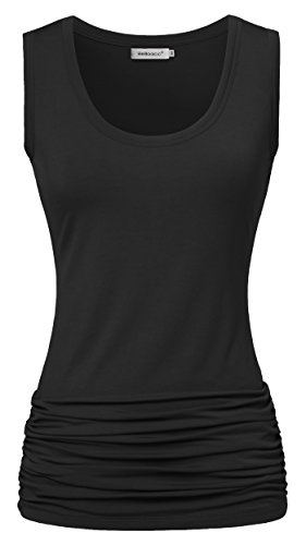 Helloacc Womans Active Sleeveless Pleated product image