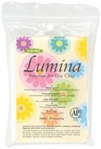Lumina Polymer Air Dry Clay 5.29oz - Translucent ()