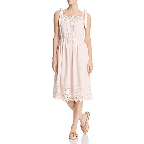 (CATHERINE CATHERINE MALANDRINO Women's Catia Dress, pear Pink, Medium )
