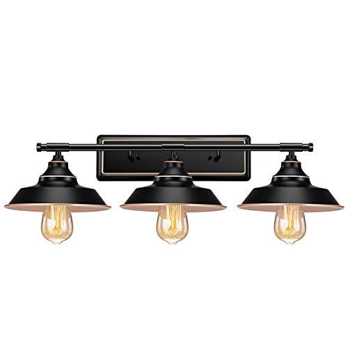 Industriële Badkamer ijdelheid Wandlamp, Licperron E26 Boerderij Vintage Wandkandelaar Verlichting, Rustieke ijdelheid…