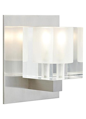 Tech Lighting 700WSCUBFZ WS-Cube Wall frost, 93.5