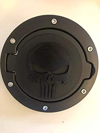 3D Punisher Skull Car Emblem Decal Gas Tank Truck Sticker Hub Cap Motorcycles
