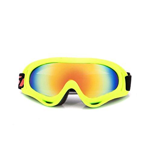 al Moto Gafas Amarillo explosiones Prueba a de Material Aire PC de esquí Viento Montar de Prueba Libre xtBYBawrqn