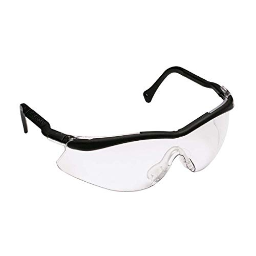 3M QX Protective Eyewear 2000, 12109-10000-20 Clear Lens, Black Temple, Soft NB 20 EA/Case