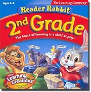 Reader Rabbit 2nd Grade by Riverdeep - Learning company
