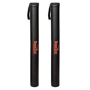 Well-Being-Matters 31L27NpHkIL._SS300_ GoSports SpeedStix 2 Pack - Mixed Martial Arts & Sports Padded Contact Sticks, Black
