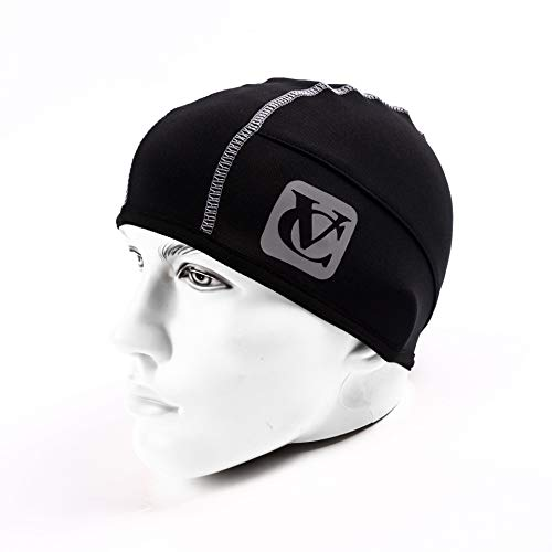 VeloChampion ThermoTech Skull Cap Windproof Thermal Under Beanie Hat Running Cycling & Sports