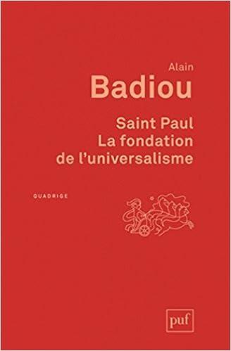 Télécharger en ligne Saint Paul. La fondation de l'universalisme pdf epub