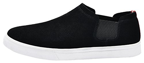 41 Smart 6061 Eu Qyy Casual Mens On Slip Cozy Leather Shoes Driving Comfy New White cZFqAwaA
