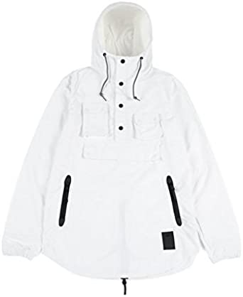 ira inercia Quejar  ASICS Premium Jacket - Men's Size Small White at Amazon Men's Clothing store