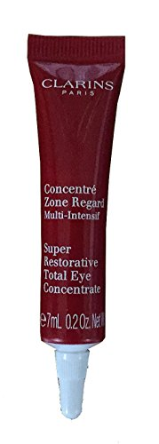 Clarins Super Restorative Total Eye Concentrate Travel Size Tube - 0.2 FL Oz