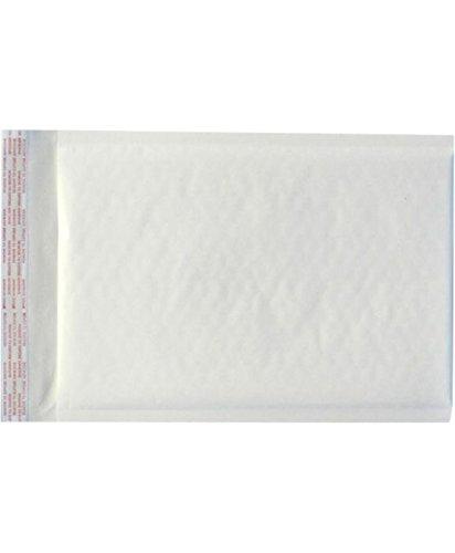 #0 Bubble Mailers (6 x 10) - White Kraft (250 Qty.)