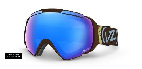 VonZipper Adult El Kabong Snow Goggles Eyewear, Stance - Gnarr-Gyle/Sky Chrome, - Kabong El Goggles