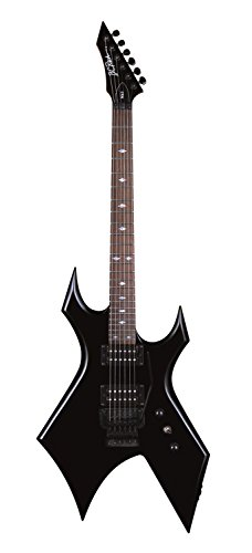 B.C. RICH 6 String Warlock Mk3 Electric Guitar, All New 2017 Model, Black, Right Handed (Mk3-WL-BK