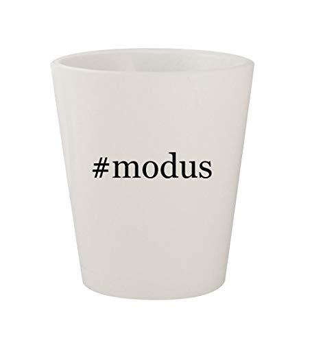 Price comparison product image #modus - Ceramic White Hashtag 1.5oz Shot Glass