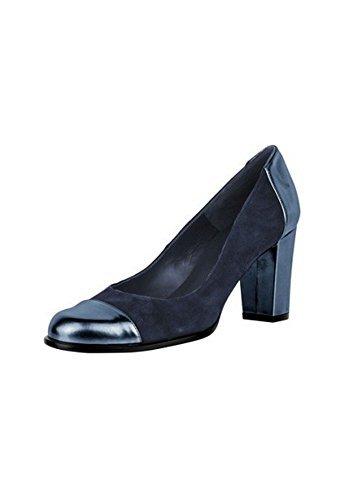 Zapatos de tacón Mujer de piel de Patrizia Dini Azul Marino