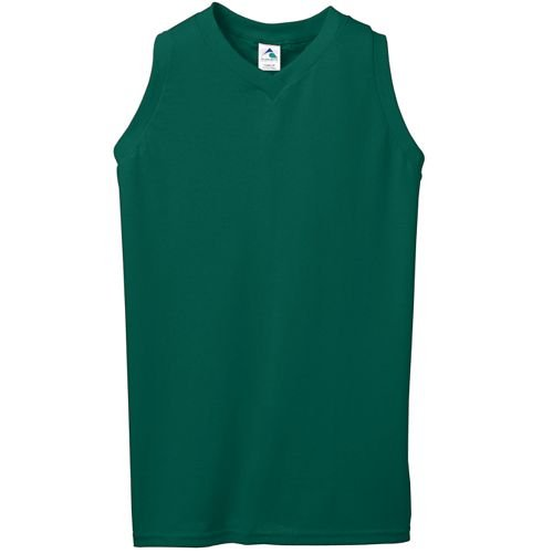 (50/50 Ladies Sleeveless V-Neck Jersey/Shirt (50% Cotton/50% Polyester, 8 Women's/Girls Sizes, 15 Colors) by Augusta Sportwear)